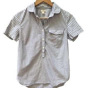 J. Crew Button Up Short Sleeve Shirt XS